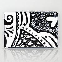 zentangle iPad Cases featuring Zentangle by Wealie