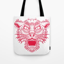 A Wolf. Tote Bag