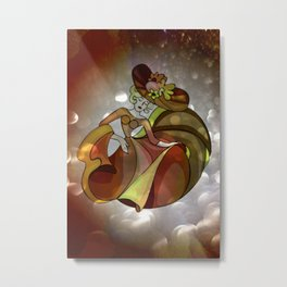 discofever -4- Metal Print