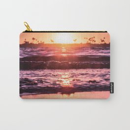 Mission Bay Shoreline in San Diego, California Carry-All Pouch