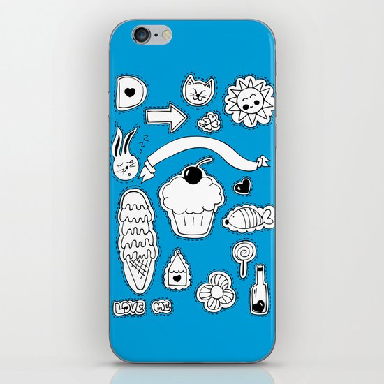 Sticker World iPhone & iPod Skin