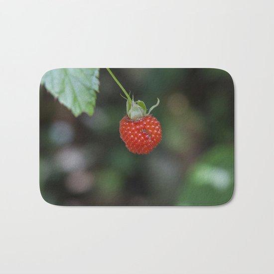 Wild Raspberry Bath Mat