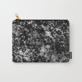 Monochrome maple Carry-All Pouch