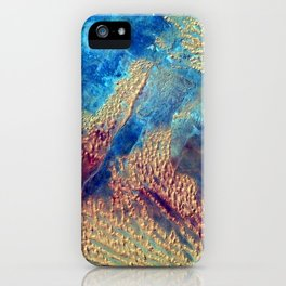 Sahara Desert From the Space Station iPhone Case