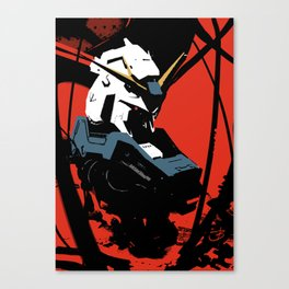 Gundam Rx-93 headbust Canvas Print