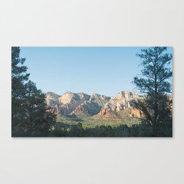 Sedona Framed by Nature Canvas Print