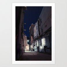 The Backstreet Art Print