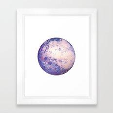 Lilac Moon Framed Art Print