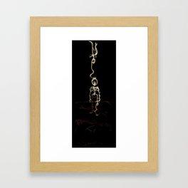 Wiredman Framed Art Print