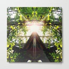 Sunlight Pyramind Bliss Metal Print