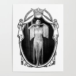 Miroir de Beauté I [Halftone Print] Poster