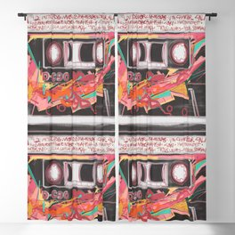 550 - A-Side Mixtape Blackout Curtain