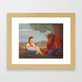 Ferdinand the Minotaur - 2nd version Framed Art Print