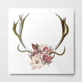 The Anatomy of Flowers Metal Print