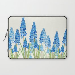 blue grape  hyacinth forest Laptop Sleeve