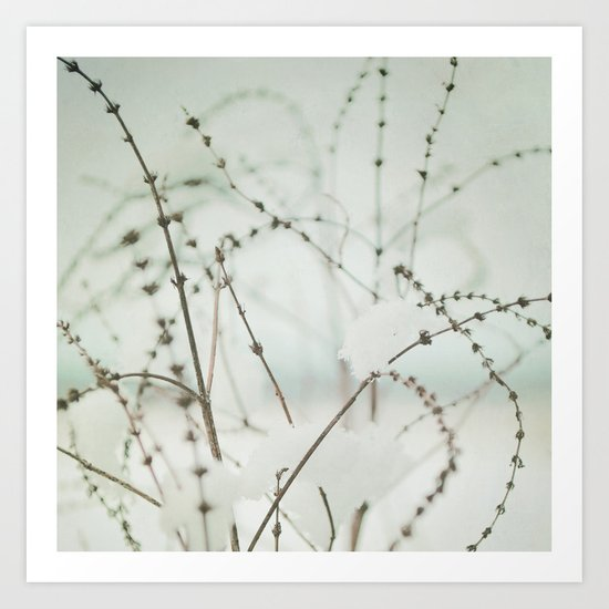 Winter's Magic Art Print