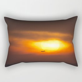 Into the Sunset. Rectangular Pillow