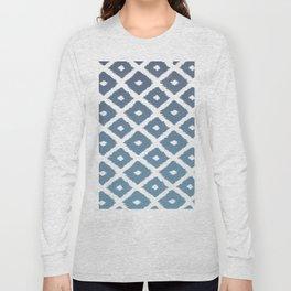 Ikat Linocut Long Sleeve T-shirt