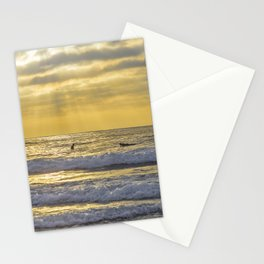 Surfing the Sun Rays Stationery Cards