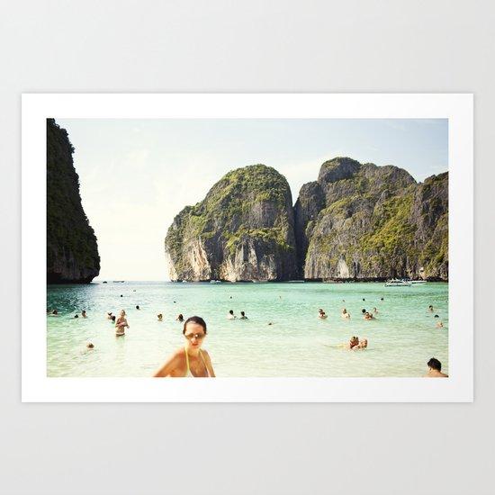 Phuket Beach Art Print