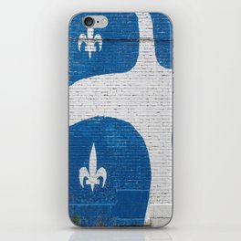 Vive le Quebec! iPhone Skin