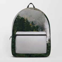 Misty Mountain Morning Backpack