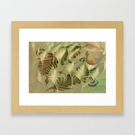 Set Framed Art Print