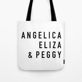 Angelica Eliza & Peggy Tote Bag