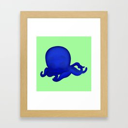Octobaby Green Framed Art Print