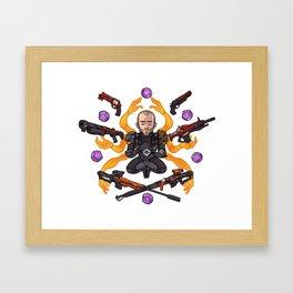 Pope RNG Framed Art Print