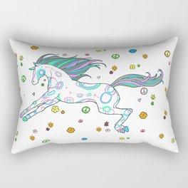 Hippie Horse Rectangular Pillow