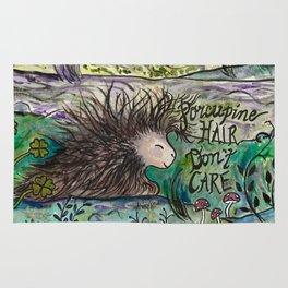 Porcupine Hair Don't Care Rug
