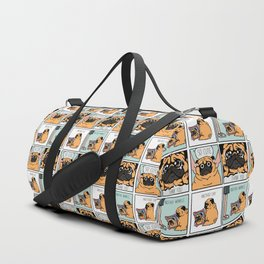 Another Wrinkle Pug Duffle Bag
