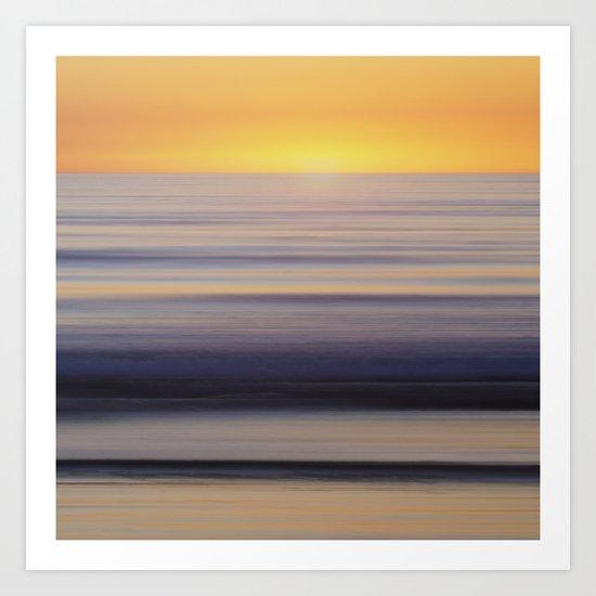 horizon #o3 Art Print