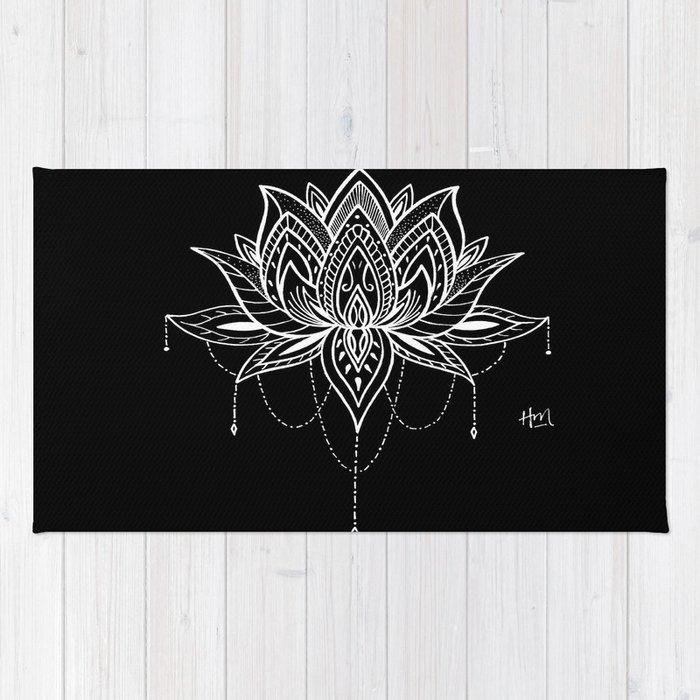 Lotus Love Rug