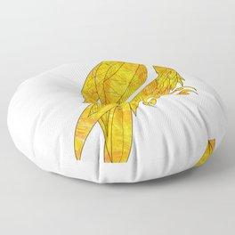 peregrine falcon ecopop Floor Pillow