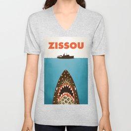 Zissou The Life Aquatic Unisex V-Neck