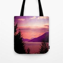 Sunset Sea to Sky Tote Bag