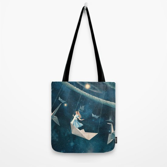 My Favourite Swing Ride Tote Bag