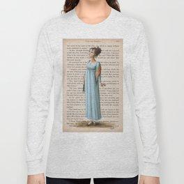 Jane Austen - Elizabeth Bennet Long Sleeve T-shirt
