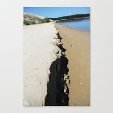 sea ans sand Canvas Print