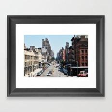 From the High Line Framed Art Print
