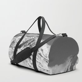 Mt. Blanc with cloud. Duffle Bag