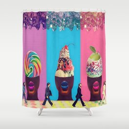 Sundae Candy Shower Curtain