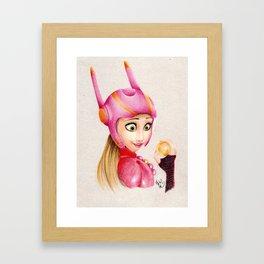 Big Hero - Honey Lemon Framed Art Print