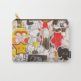 Kaws Art Style Carry-All Pouch