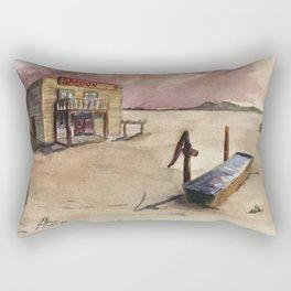 The Lone Saloon Rectangular Pillow