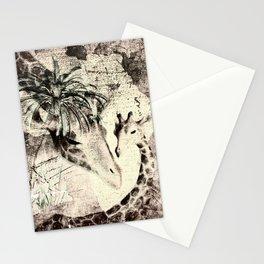 Afrikas Giraffen Stationery Cards