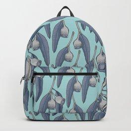Blue Silver Gum Pattern Backpack