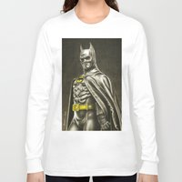 1989 Long Sleeve T-shirts featuring BAT-MAN 1989 by Bungle